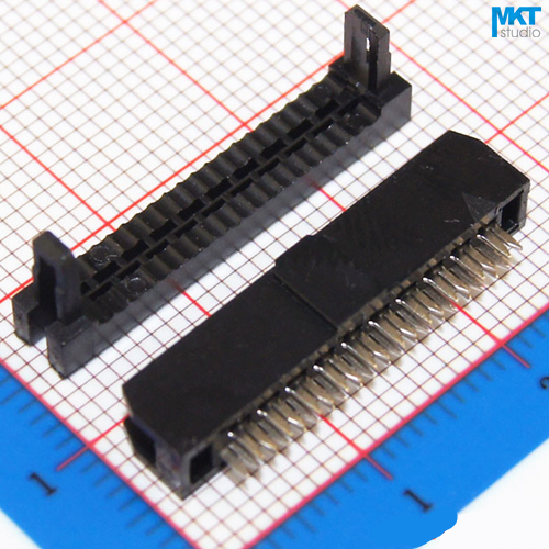 10Pcs Female 2x10 20P 2.0mm Pitch Spacing IDC Box Pin Header Shrouded Connector, For Flat Ribbon Cable