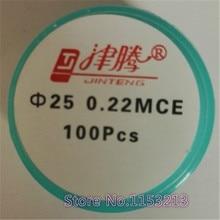 Microporous Filter Membrane MCE 25mm 0.45um/0.22um Micro Nylon Membrane Filter JIN TENG BRAND 100pcs/pk