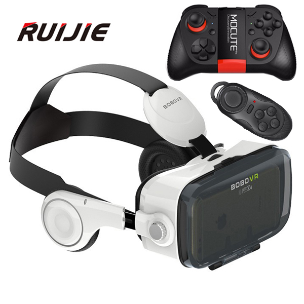 Xiaozhai Z4 BOBOVR <font><b>VR</b></font> Box 360 Degrees 3D <font><b>VR</b></font> <font><b>Virtual</b></font> <font><b>Reality</b></font> <font><b>Headset</b></font> 3D Movie Video Game <font><b>Private</b></font> Theater with Headphone+MOCUTE-50