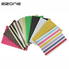 EZONE 2Pcs/Set Mini Album Decorative Sticker DIY Scrapbook Retro PVC Photo Corner Candy Color Stationery Papelaria