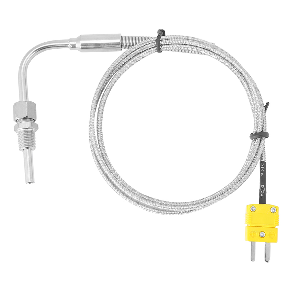 EGT Thermocouple Temperature Sensors K <font><b>type</b></font> for Exhaust Gas Temp Probe with Exposed Tip &#038; <font><b>Connector</b></font>