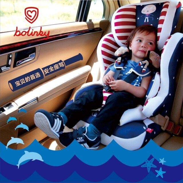 Bolinky ребенок безопасности автокресло для автомобиля сиденье автомобиля ребенок малолетними детьми 0-4-8-12 лет старый с 3C сертификации