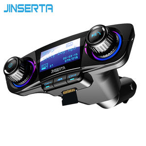 JINSERTA Modulator Handsfree Car Kit TF USB Music AUX Audio MP3 Player