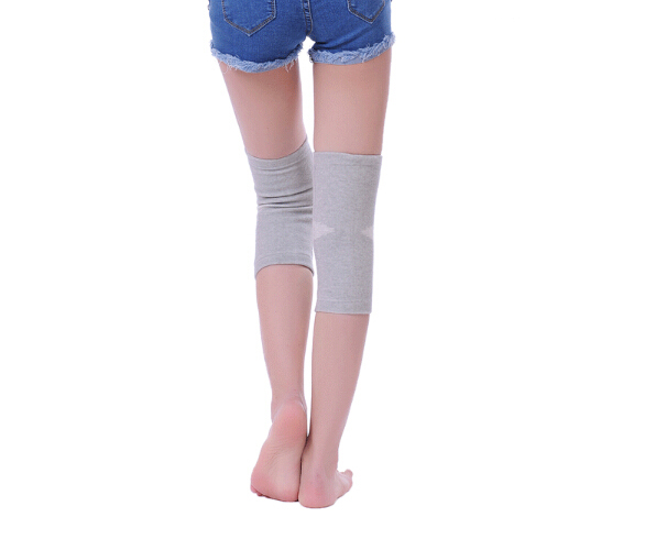 1pair of JORZILANO Elastic Breathable Bamboo Charcoal Support Tourmaline Magnetic Knee Brace Pad Patella Thickening Warming