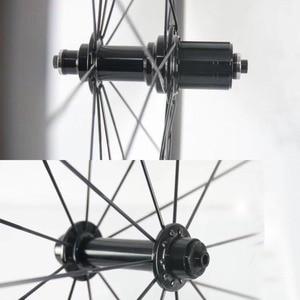 Image 3 - Bujes súper ligeros para bicicleta de carretera, solo 266 g/set, Kingkong R10, buje de bicicleta incluye pincho, reemplazo de 20/24 orificios, cubo R13