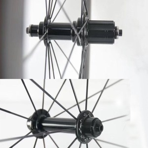 Image 3 - Road fiets Super licht Hubs alleen 266 g/set Kingkong R10 fiets Hub omvatten spies 20/24 gat substituut R13 hub