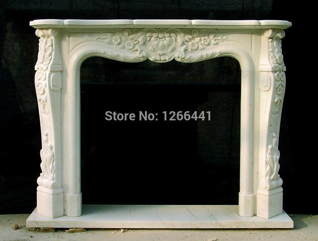 Fabulous Stenen open haard marmeren schoorsteenmantel klassieke Europese &KD87