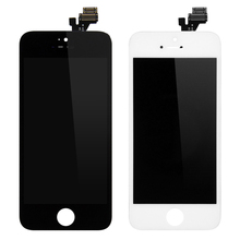 1PCS Alibaba China Grade AAA Screen For Apple iPhone 5 LCD Display Touch Screen Assembly With Digitizer No Dead Pixels