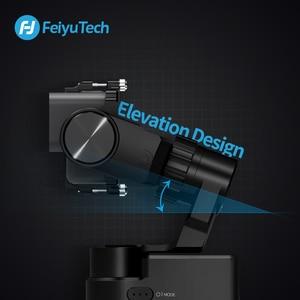 Image 5 - Trípode de cardán portátil FeiyuTech Feiyu WG2X, estabilizador de 3 ejes para GoPro Hero 8 7 6 5 4 Sony RX0 YI 4K, cámara de acción a prueba de salpicaduras