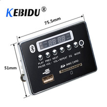 Автомобильный fm-радио модуль Bluetooth MP3 декодер доска музыкальный плеер WMA WAV беспроводной аудио приемник адаптер Suppport AUX SD USB диск