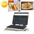 Нагреватель сэндвич машина 220В 110В Электрический Хлеб Завтрак тостер грелка Железный гриль вафельница тарелка