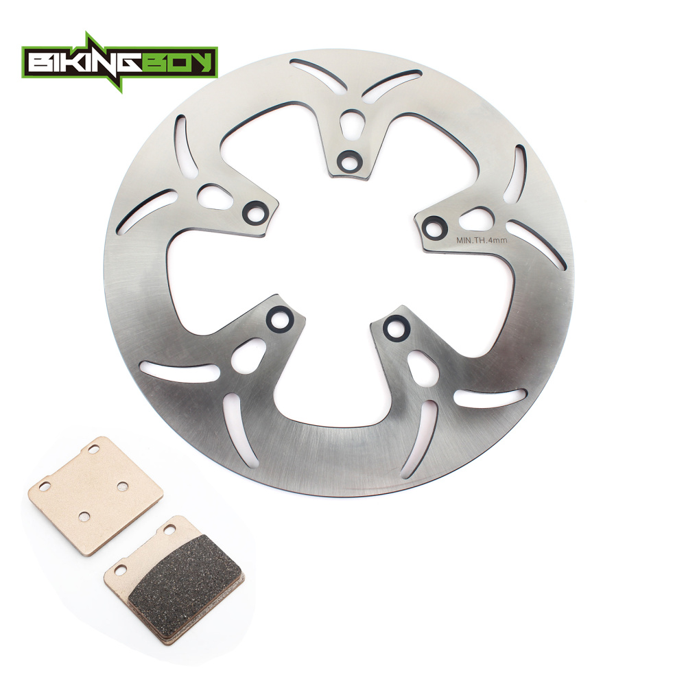 BIKINGBOY 300mm Front Brake Rotor Disc Disk Pads Wave Set For Suzuki VL 1500 Intruder Legendary 1998 1999 2000 2001 98-01 front brake disc rotor for suzuki vs700 glf glp h vs750 glf glp j intruder vs800 gl n vs1400 gl glp s83 boulevard 05 06 07 08 09