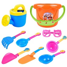 9 Sets Of Children Playing Sand Playing Water Toys Sunglasses