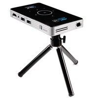 C6 Mini 4 K DLP проектор для android устройств 2,4G 5,8G Wifi Bluetooth 4,0 портативный светодиодный видеопроектор домашний кинотеатр поддержка Miracast Airplay