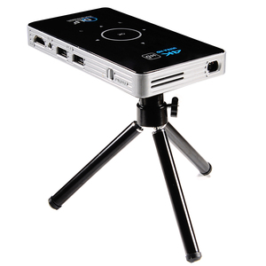 Image 1 - C6 Mini 4K DLP Android 9.0 Projector 2.4G 5.8G Wifi Bluetooth Portable LED Video Projector Home Cinema Support Miracast Airplay