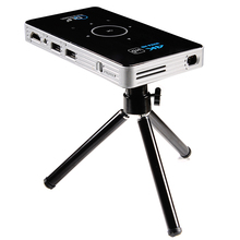 C6 Mini 4K Dlp Android 9.0 Projector 2.4G 5.8G Wifi Bluetooth Draagbare Led Video Projector Home Cinema ondersteuning Miracast Airplay
