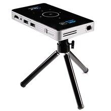Mini proyector LED C6 4K DLP, Android 9,0, 2,4G, 5,8G, Wifi, Bluetooth, portátil, para cine en casa, compatible con Miracast Airplay