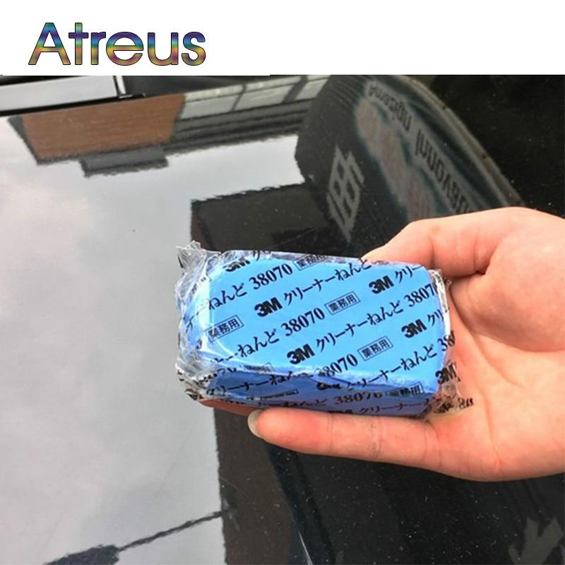 2Pcs Car Wash Mud Decontamination Accessories For Nissan Qashqai Opel Astra J H Kia Ceed Sorento Skoda Octavia A5 A7 2