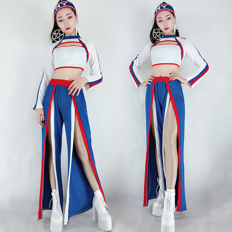 Stage Costumes For Singers Hip Hop Nightclub Dj Ds Ladies Pole Dance Performance Clothing Dancer Outfit Woman Party DNV11088