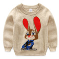 Cute Autumn Winter Boy Girl Sweater Children Clothing Brand Pullover Kids Clothes Boys Girls Sweaters Cartoon Knitting Toddler