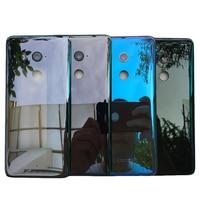 Zuczug vidro habitação traseira para htc u11 plus bateria capa traseira caso com lente da câmera + logotipo|Estojos de celular| |  -