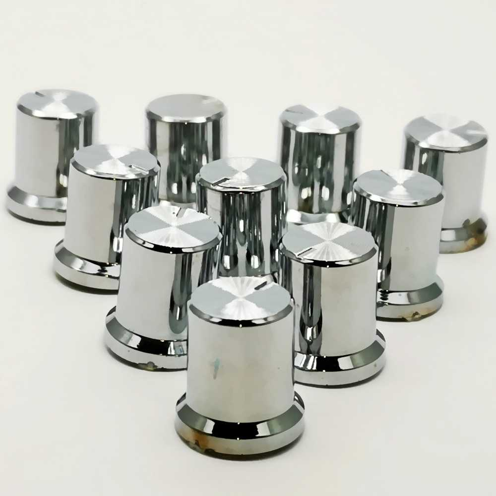 10PCS  Rotary Encoder  Knobs  Volume Control  Knobs  Potentiometer 6mm Shaft  Knob