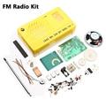 AM FM Rádio Kit Eletrônico kit de peças DIY Kit de Aprendizagem Eletrônica ZX-620