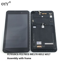 LCD Display Screen Touch Screen Digitizer Assembly With Frame 7 0 Inch For For ASUS Fonepad