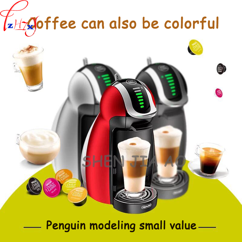 1pc 220V 1500W home meaning automatic capsule coffee machine 1000ML intelligent Italian capsule coffee machine 1pc 220v business home automatic italian coffee machine 1 2l coffee machine intelligent stainless steel italian coffee machine