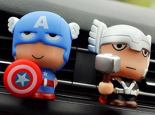 Automotive-Freshener-Car-Perfume-Clip-For-The-Avengers-Marvel-Superhero-Figures-Auto-Vents-Scent-Diffuser-In