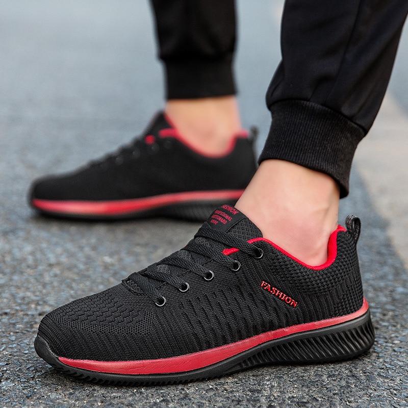 KipeRann Men Running Shoes Sneakers For Men Comfortable Sport Shoes Men Trend Lightweight Walking Shoes Breathable Zapatillas