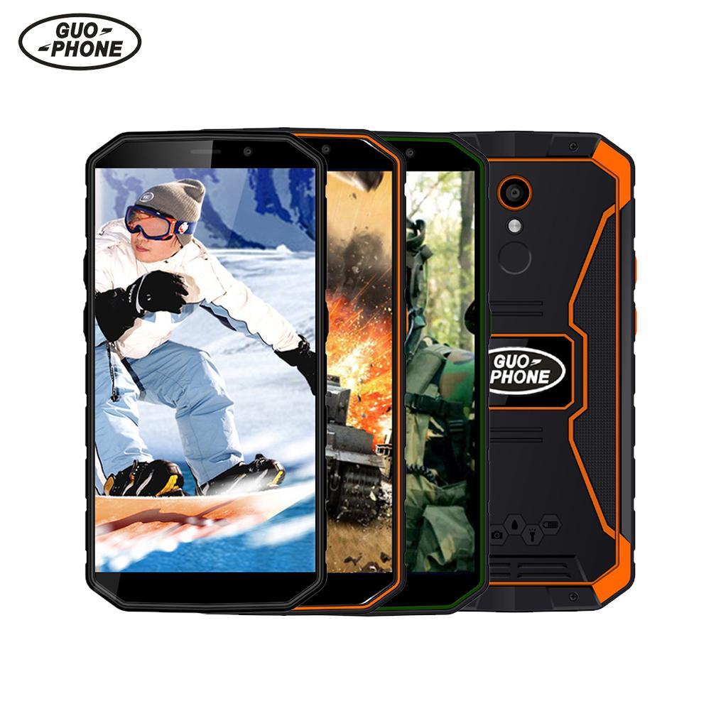 Фото. Первоначально Guophone XP9800 смартфон 5,5 дюйм 6500 mah Водонепроницаемый IP68 MTK6739 4 ядра