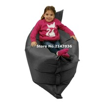 Versitile children bean bag chair, functional outdoor waterproof floor cushion