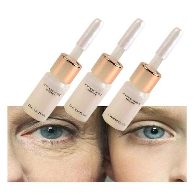 3 PCS Anında Ürünleri Sihirli Anti Aging, Anti Kırışıklık Sıvı Asansör Yüz Kremi Argireline hiyalüronik asit serum