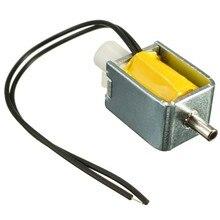 Лучшая цена разного качества, работающего на постоянном токе 12 В в 2-х позиционный Выключатель 3-полосная маленький мини Электрический электромагнитный клапан устройства для бензиновых воздушных/туфли-лодочки маленького размера