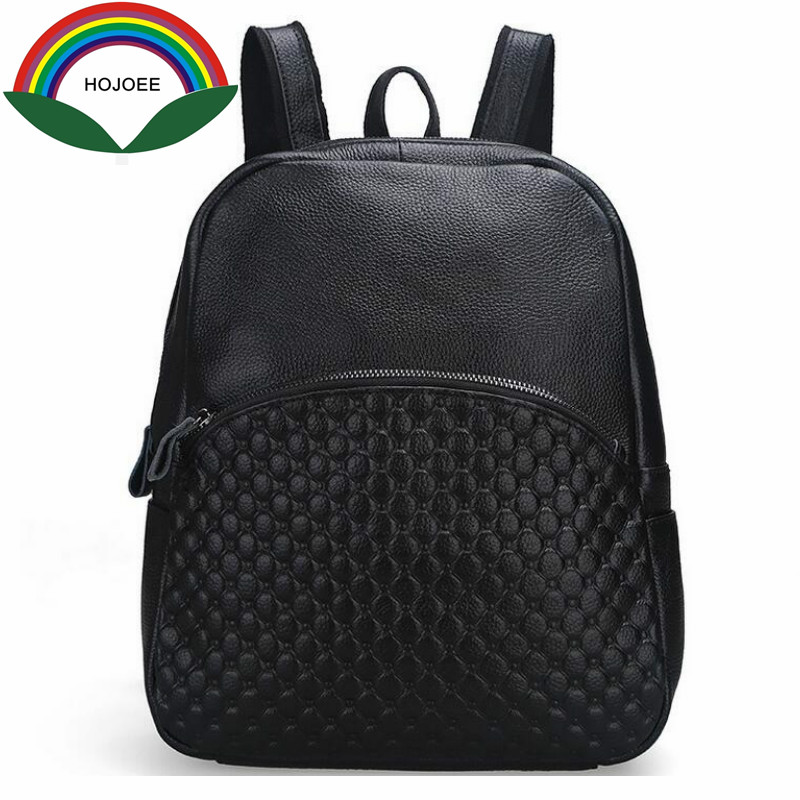 Backpack female Woman backpack Genuine Leather Holographic Backpacks For Teenage Girls School Bags Tophandle Bags mochila