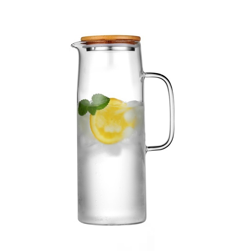 1L 1 3L 1 5L 1 7L Transparent Glass Water Pot Jug Cha Tea Kettle Lemonade Pitcher Heat resistant Explosion proof Heatable Carafe in Water Pots Kettles from Home Garden