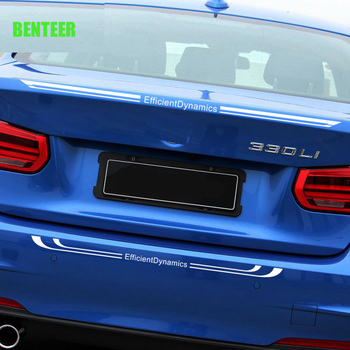 Lastest design M performance motorsport car rear sticker for BMW E28 E36 E46 E60 E7 F30 316 318 320 325 330 335 F10 E90 520 image