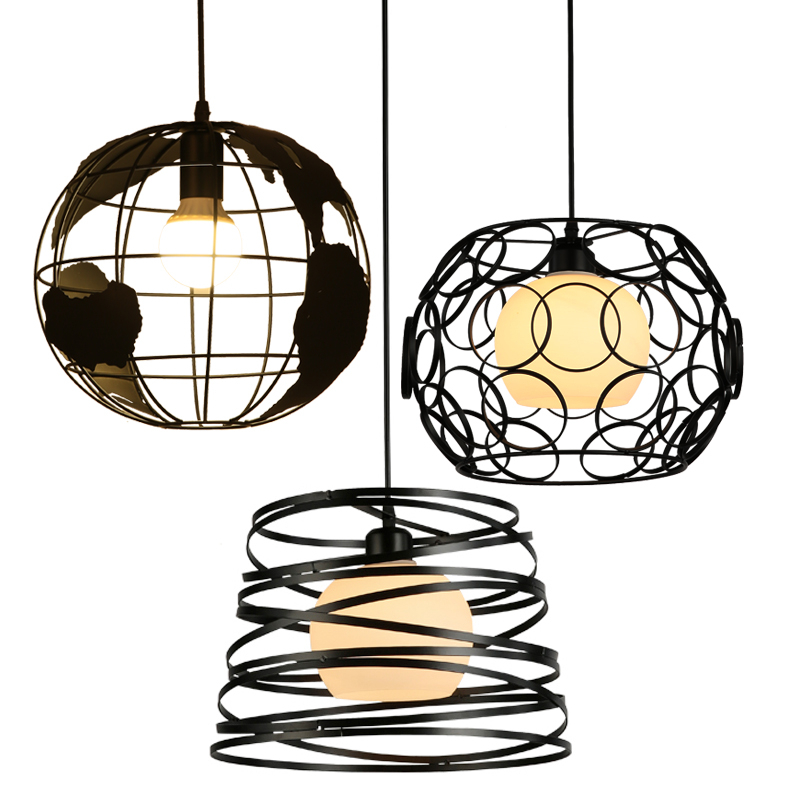 Restaurant Bedroom lights Bar lamp Study lamp pendant lights pendant lamp luminaire Aisle lights hanging lamps