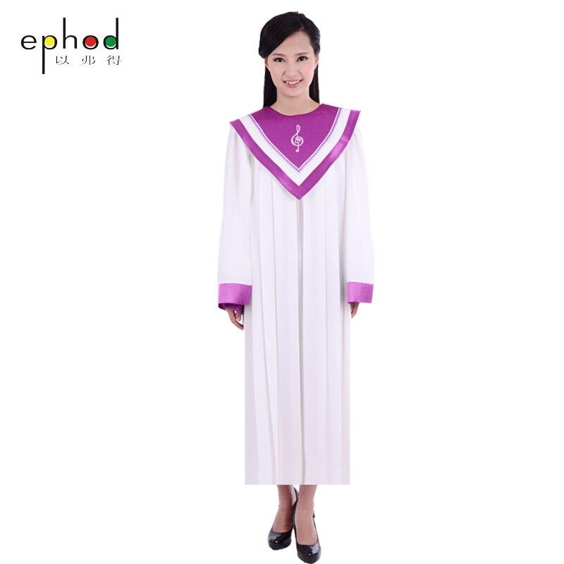Christian Church Choir Singing Robe Gown Clothing Apparel