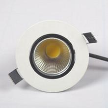 Затемнения 10 Вт COB светодиодный светильник+ Драйвер питания теплый/холодный/натуральный белый светильник встраиваемые потолочные лампы