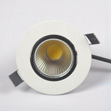 Free shipping Dimmable 7W 10W COB LED Downlight+Power Driver Warm/Cool/Natural White Fixture Recessed Ceiling Down Lights Lamps