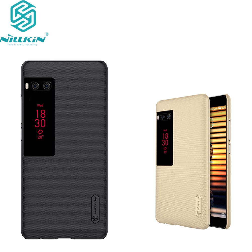 Meizu pro 7 plus case 5.7 inch Nillkin frosted hard plastic back cover for meizu pro7 plus case cover with Screen Protector