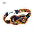 2017 new  Women Headbands Hair Accessories Beads African Printed Wax Headbands for Women Colorful Hair Sticks Hairbands WY-S02