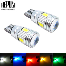 2X Canbus LED Car Light T10 W5W Parking Lights Auto Clearance white red green blue For kia rio k2 ceed sportage optima forte