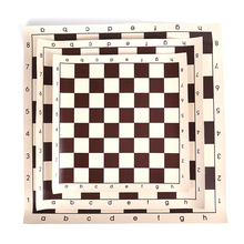 34.5/42/50.05cm Vinyl Tournament Chess Board Educational Games Magnetic For