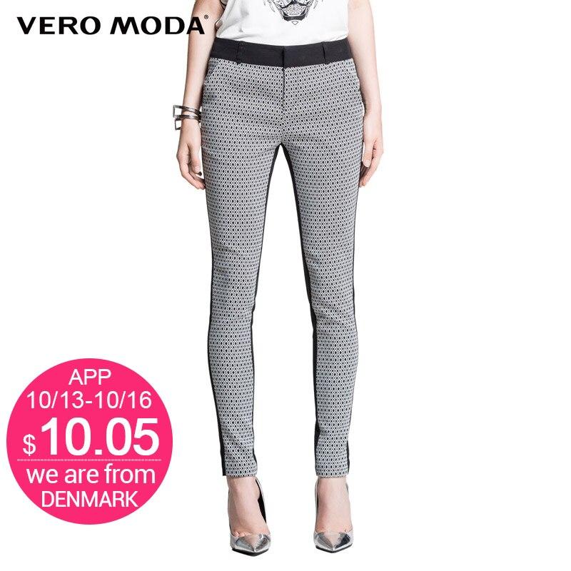 Vero Moda Brand hot Women Fashion Pencil Skinny elastic Pants Girls Sexy Chic Legging Trousers Ladies
