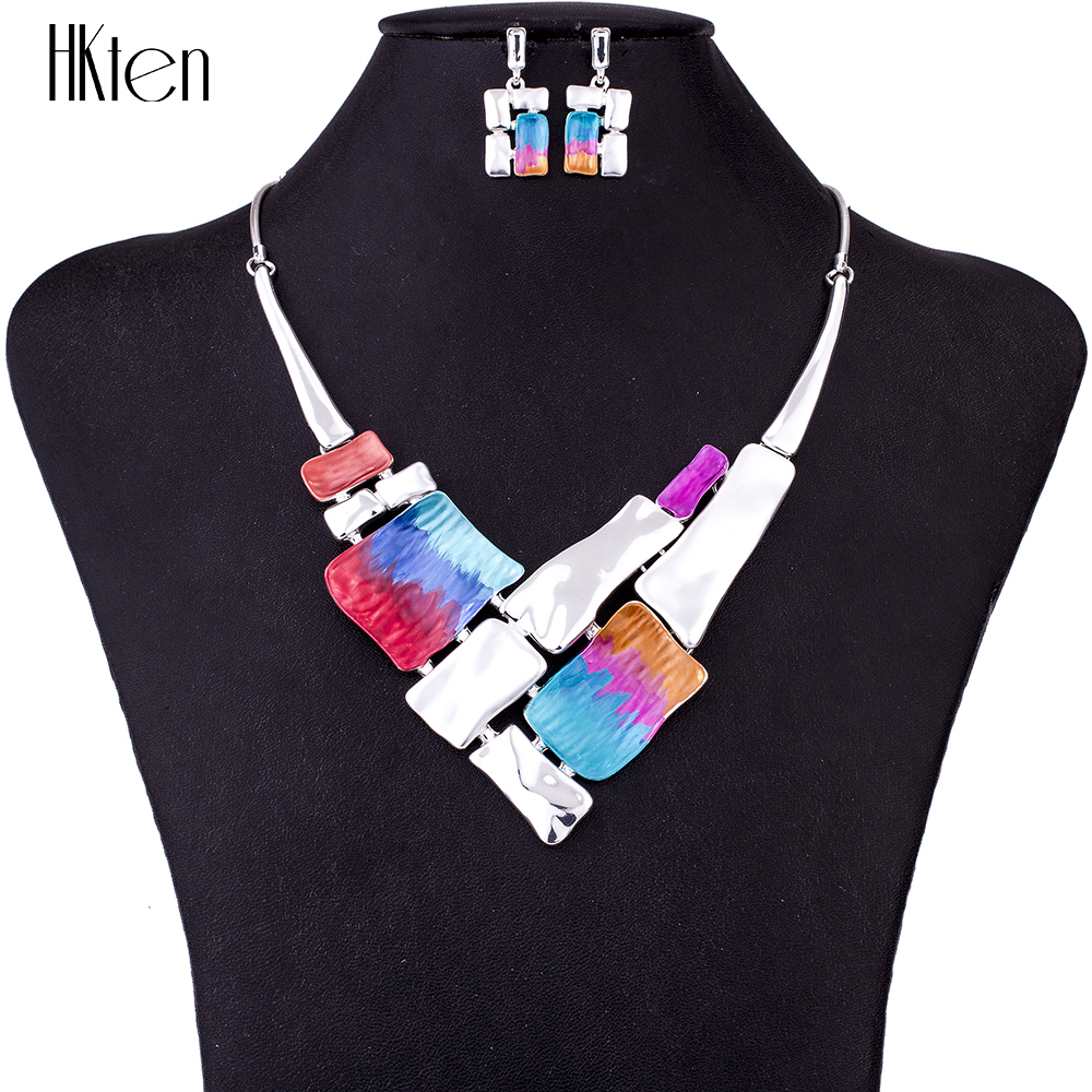 MS1504721 Fashion Jewelry Sets High Quality Necklace Sets For Women Jewelry Multicolored Alloy Unique Design Party GiftMS1504721 Fashion Jewelry Sets High Quality Necklace Sets For Women Jewelry Multicolored Alloy Unique Design Party Gift