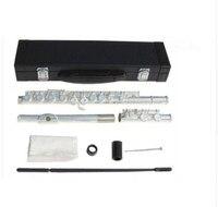 Высокое качество флейта музыкальный инструмент YFL 271 флейта 16closed E ключ флейта C мелодия серебро музыка Профессиональный доставка