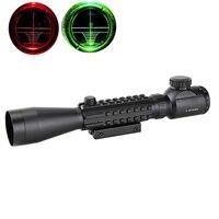 Hunting Riflescope Optics 3 9x40 Optical Illuminated Sight Aiming Device Rifle Scope AR15 AR10 223 308